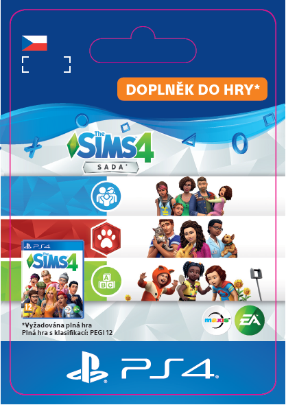 ESD CZ PS4 - TheSims4BundleCatsDogsParentToddler