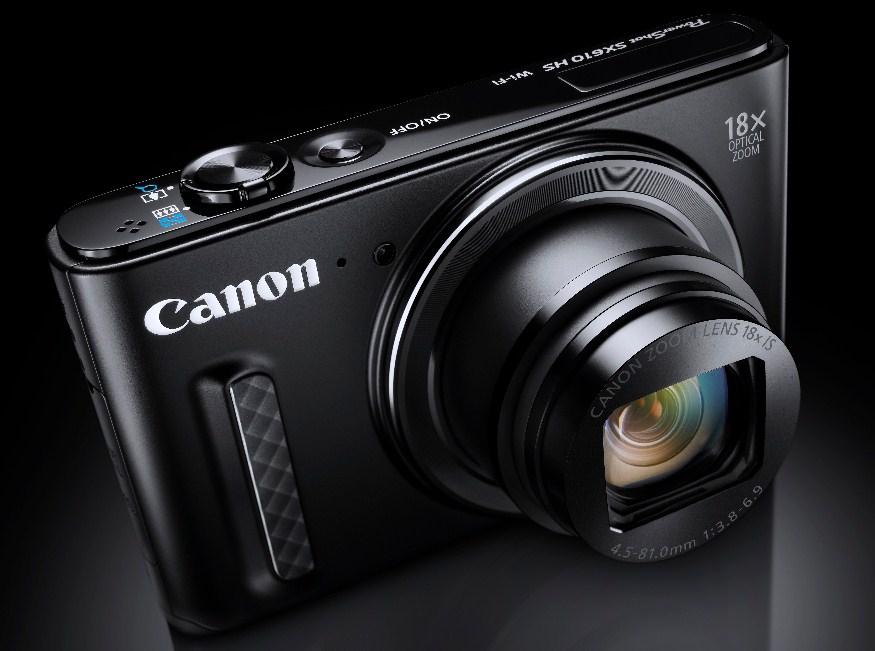 Canon PowerShot SX610 černá