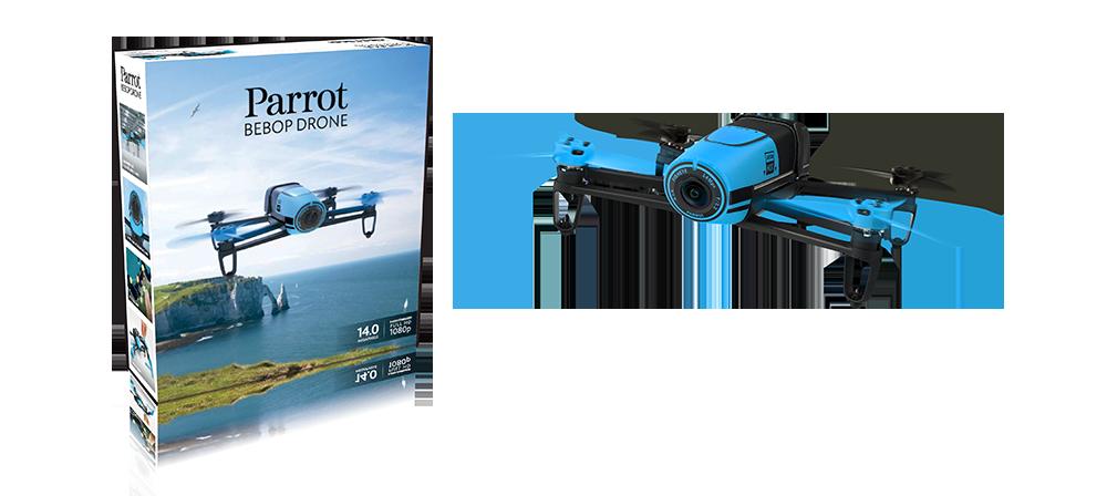 Parrot Bebop Drone - Blue