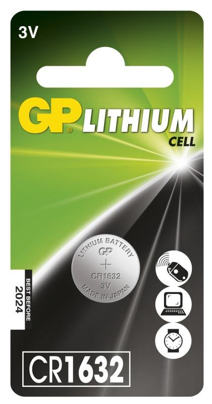 GP CR1632 - 1 ks