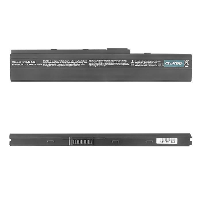 Qoltec Long Life baterie pro notebooky HP DV2000, 10.8-11.1V | 5200mAh