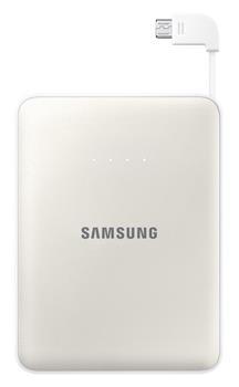 Samsung externí záložní baterie 8400 mAh, bílá