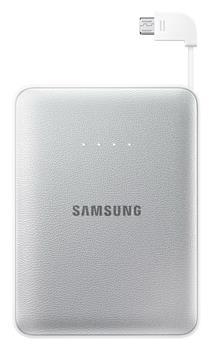 Samsung externí záložní baterie 8400 mAh, stříbrná