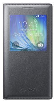 Samsung flip. pouzdro S-view pro G. A5, černá