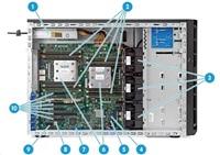 HP ML150 Gen9 E5-2609v3, 8GB, 1TB SATA, B140