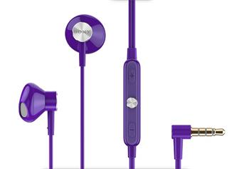 Sony STH30 Stereo Headset Purple