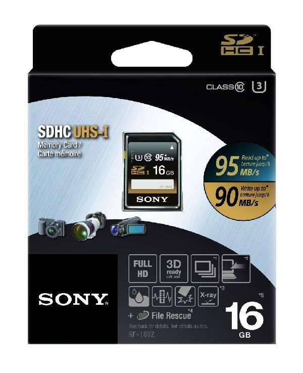 SONY SD karta SF16UZ 16 GB