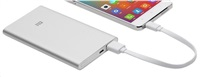 Xiaomi 5000mAh Mi Power Bank (Silver)