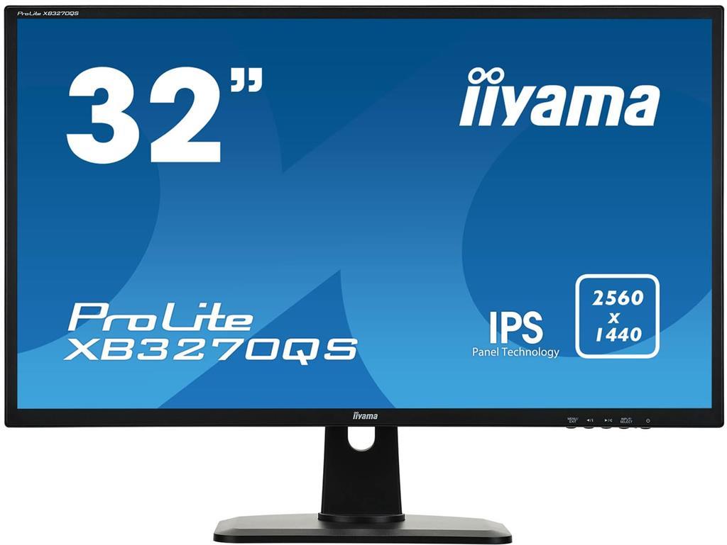 Monitor Iiyama XB3270QS-B1 A 32inch, panel IPS, WQHD, DVI/HDMI/DP, HAS, speakers