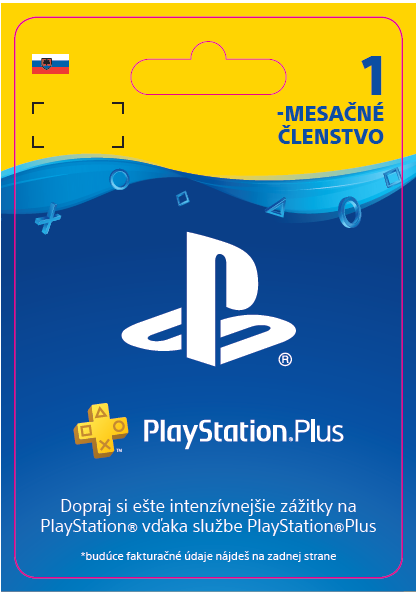 ESD SK PS4 - PlayStation Plus 1 Month Subscrip.