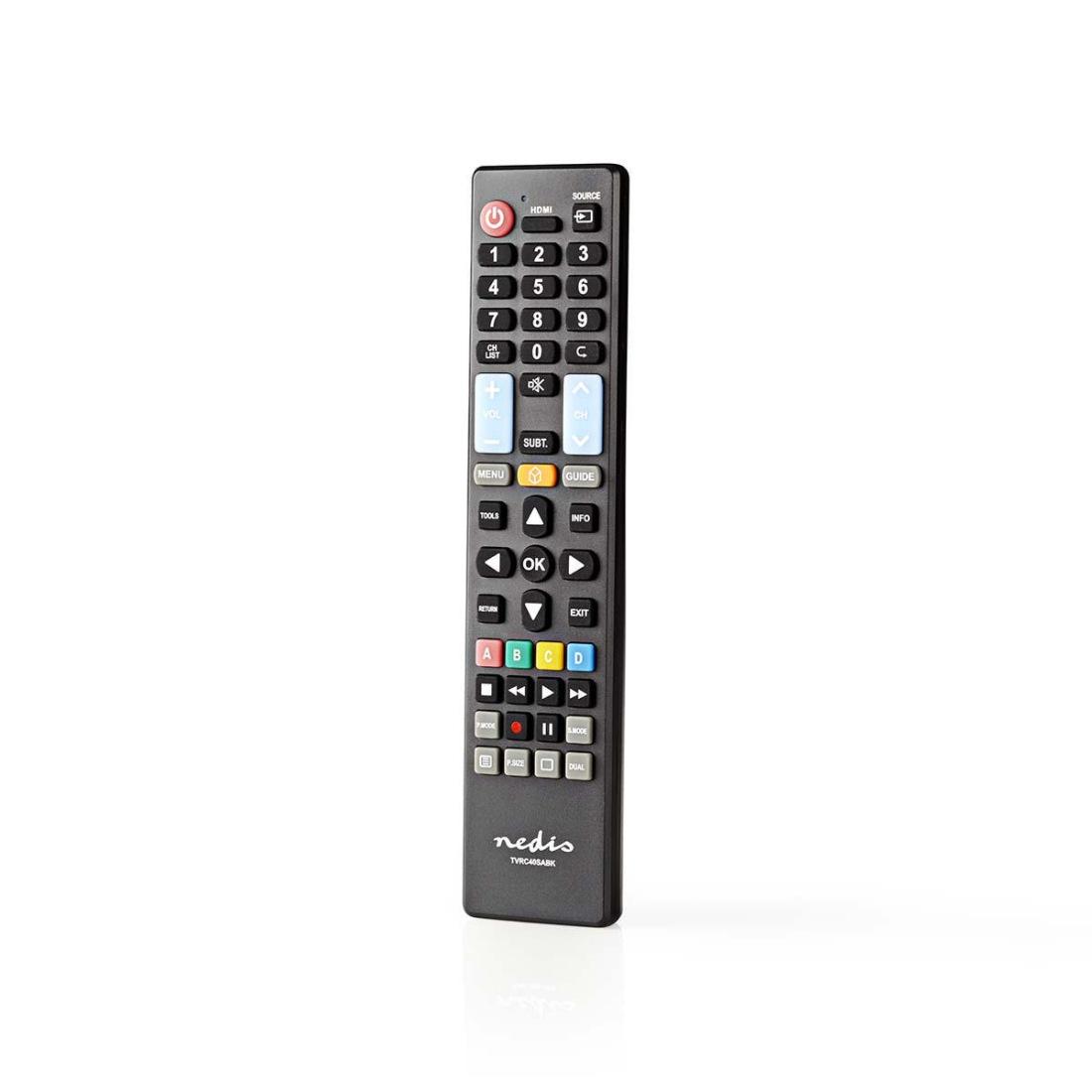 Nedis TVRC40SABK - Náhradní Dálkový Ovladač | Samsung TV | Připraveno k Použití