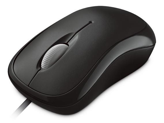 Microsoft Basic Optical Mouse Mac/Win USB, černá