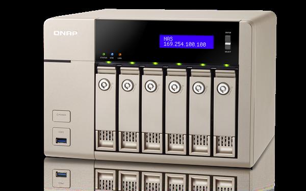 QNAP TVS-663 (2,4G/4GB RAM/6xSATA)