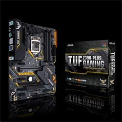 ASUS MB Sc LGA1151 TUF Z390-PLUS GAMING, Intel Z390, 4xDDR4, VGA