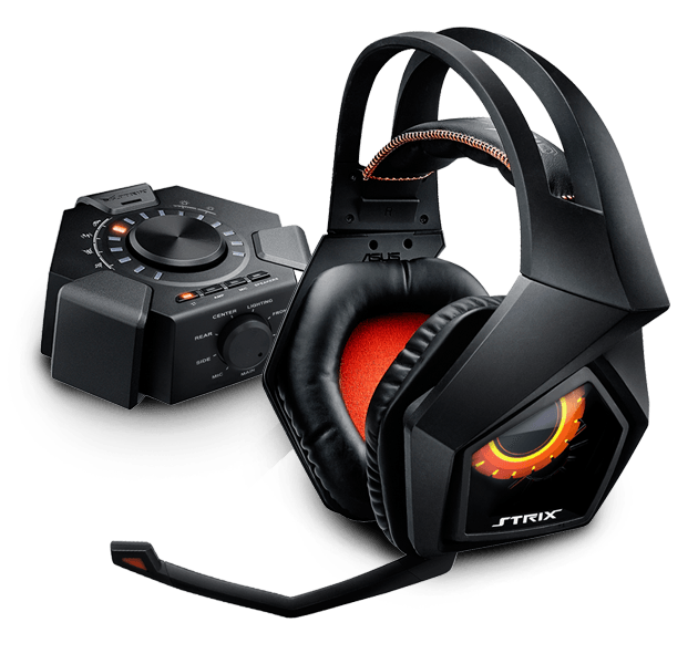 ASUS STRIX 7.1 gaming headset + dárek Echelon gaming pad za 1 CZK/0,05 EUR