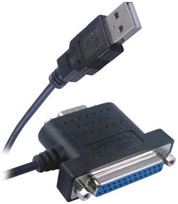 PremiumCord USB - 1x RS 232 + 1x LPT převodník