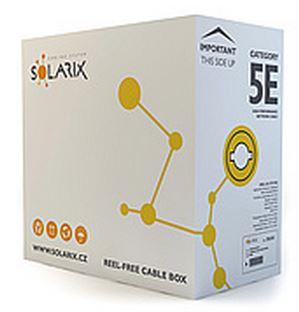Instal.kabel Solarix CAT5E UTP PVC 305m licna