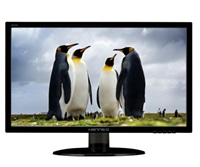 """HANNspree MT LCD HE225DPB 21,5"""" 1920x1080, 40mil:1, 250cd, 5ms,D-Sub, DVI, Repro"""