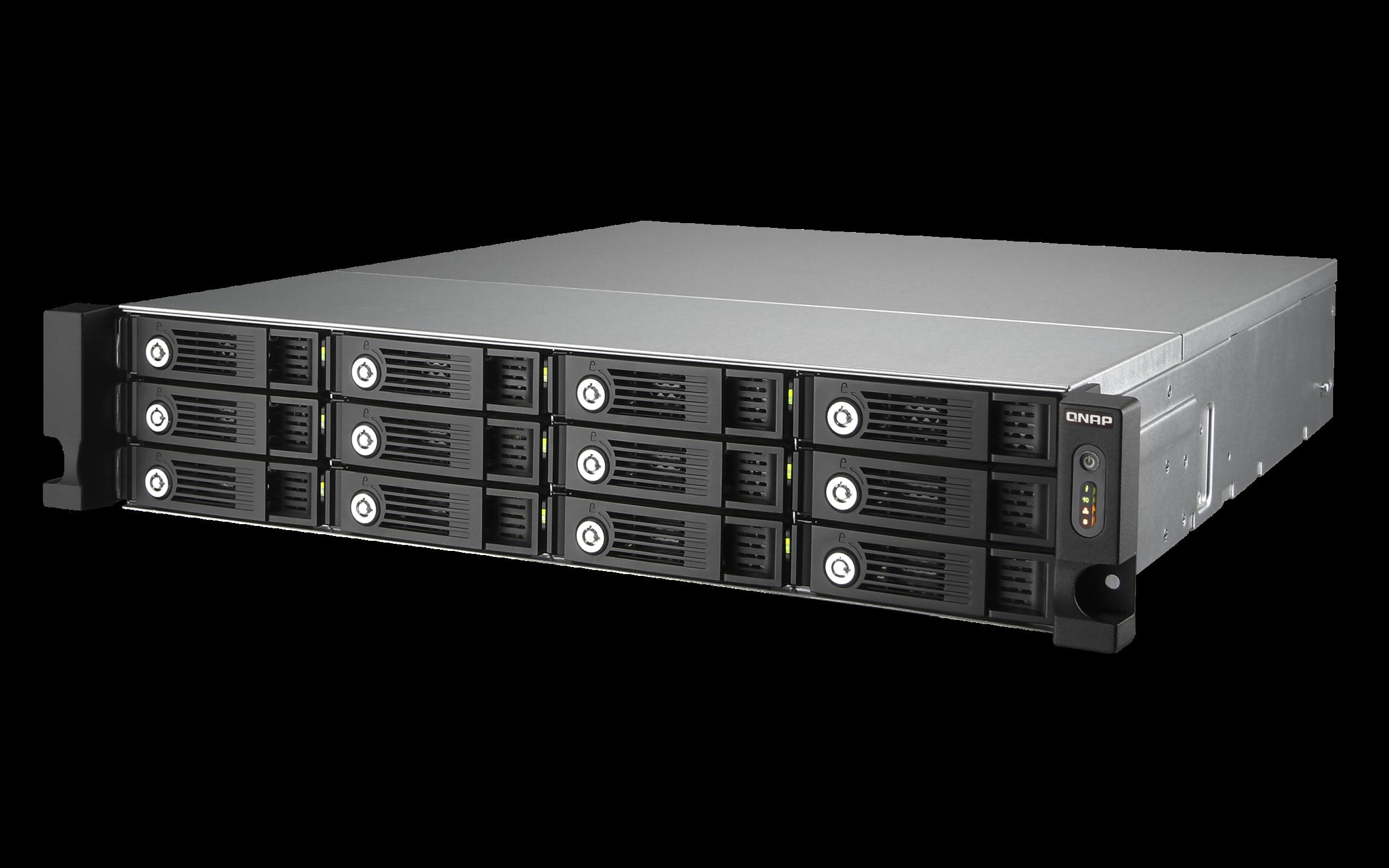 QNAP TVS-1271U-RP-i3-8G (3,5G/8GB RAM/12xSATA)