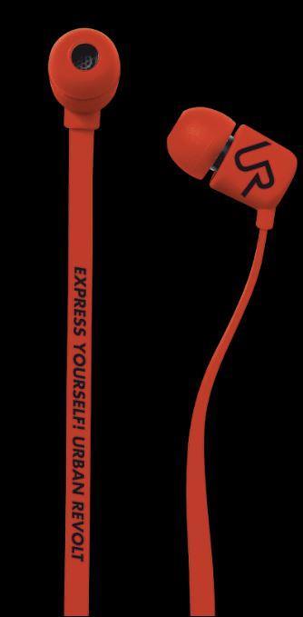 URBAN REVOLT Sluchátka Duga In-ear Headphone - červená, špuntová