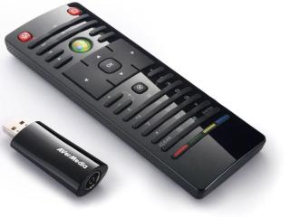 AVerMedia digitální TV tuner, AVerTV Volar HD Nano, DVB-T, HDTV, USB 2.0