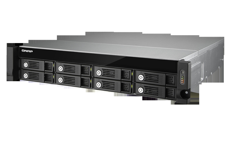 QNAP TVS-871U-RP-I3-4G (3,5G/4GB RAM/8xSATA)