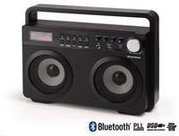 AUDIOSONIC Bezdrátové Soundblaster reproduktory RD-1557, černé (Bluetooth)