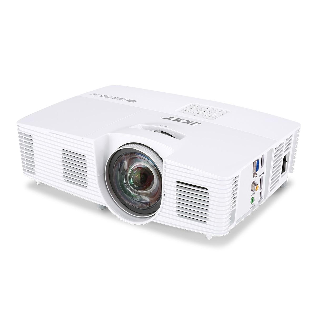 Acer H6517ST DLP / 3D / 1920x1080 1080p / 3000 ANSI / 10000:1 / VGA / HDMI / HDMI(MHL) / 1x2W repro / 2,5 KG