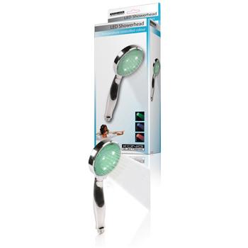 König HC-SH10N - sprchová hlavice svítící, 3 barvy podle teploty vody