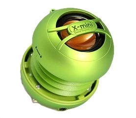X-mini UNO keramický přenosný mono reproduktor, zelený
