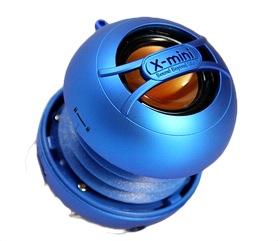 X-mini UNO keramický přenosný mono reproduktor, modrý