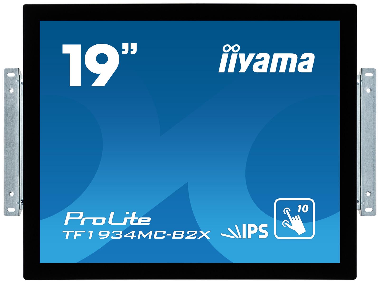 Iiyama LCD TF1934MC-B2X 19''LED IPS dotykový, 14ms, VGA/DVI, USB, 1280x1024, č