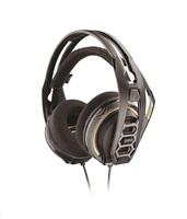 PLANTRONICS herní sluchátka s mikrofonem RIG 400 PRO HC, černá