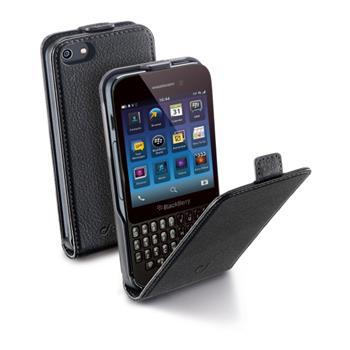 Pouzdro CellularLine Flap BlackBerry Q5, černé
