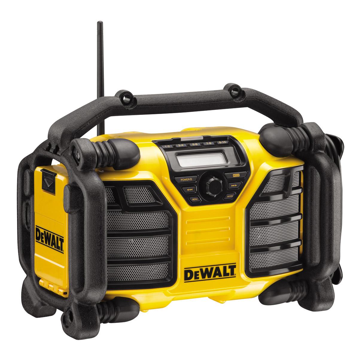 Stavební rádio DeWALT DCR017