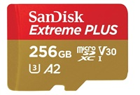 SanDisk Extreme Plus microSDXC 256GB 170MB/s +ada.