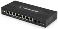 UBNT Edgeswitch 10XP [8x Gigabit portů s funkcí pasivního PoE 24V, 2x SFP]