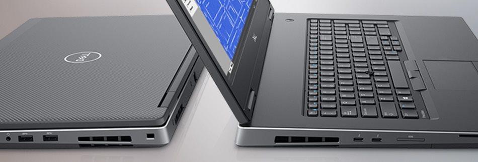 """DELL Precision 7730/Core i7-8750H/32GB/2x256GB SSD/Quadro P3200 6GB/17,3"""" FHD/Win 10 Pro 64bit/Black"""