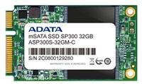 ADATA SSD 32GB Premier Pro SP300 mSATA SATA II 3Gb/s, bulk