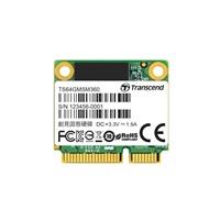 TRANSCEND Industrial SSD MSM360, 64GB, SATA III 6G mSATA, MLC