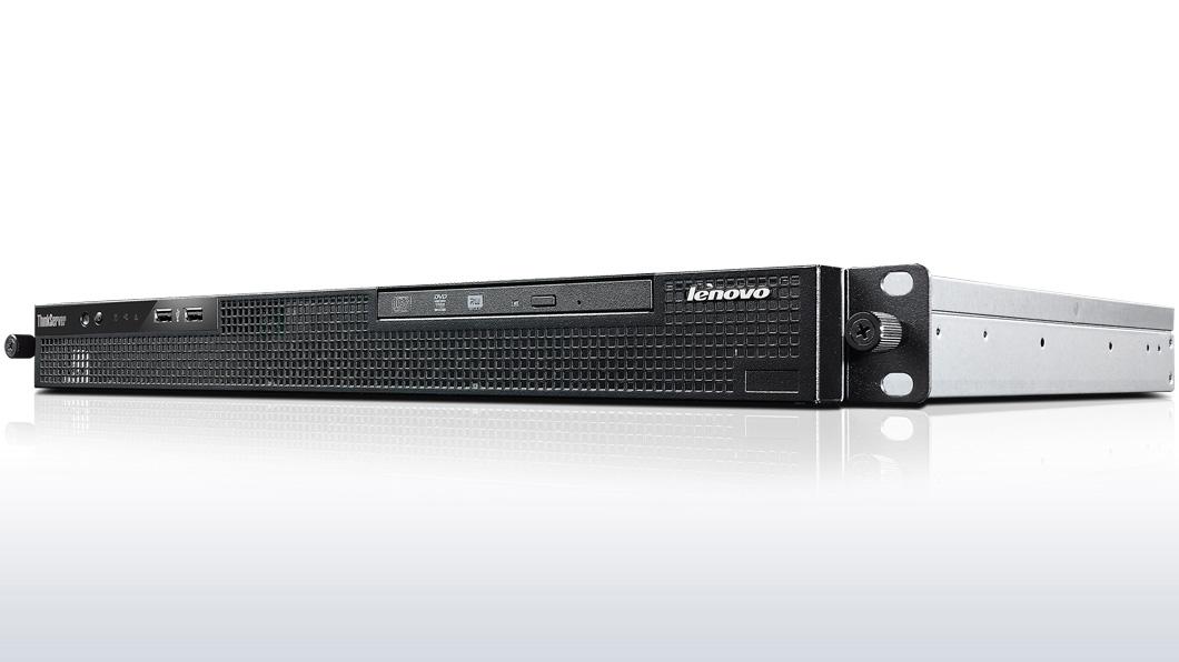 """Lenovo RS140 Xeon 4C E3-1226v3 3.3GHz/1600MHz/8MB/1x4GB/ 2x1TB SATA NHS 3,5"""" (2)/RAID5/DVD-RW/300W fixed - rozbaleno"""