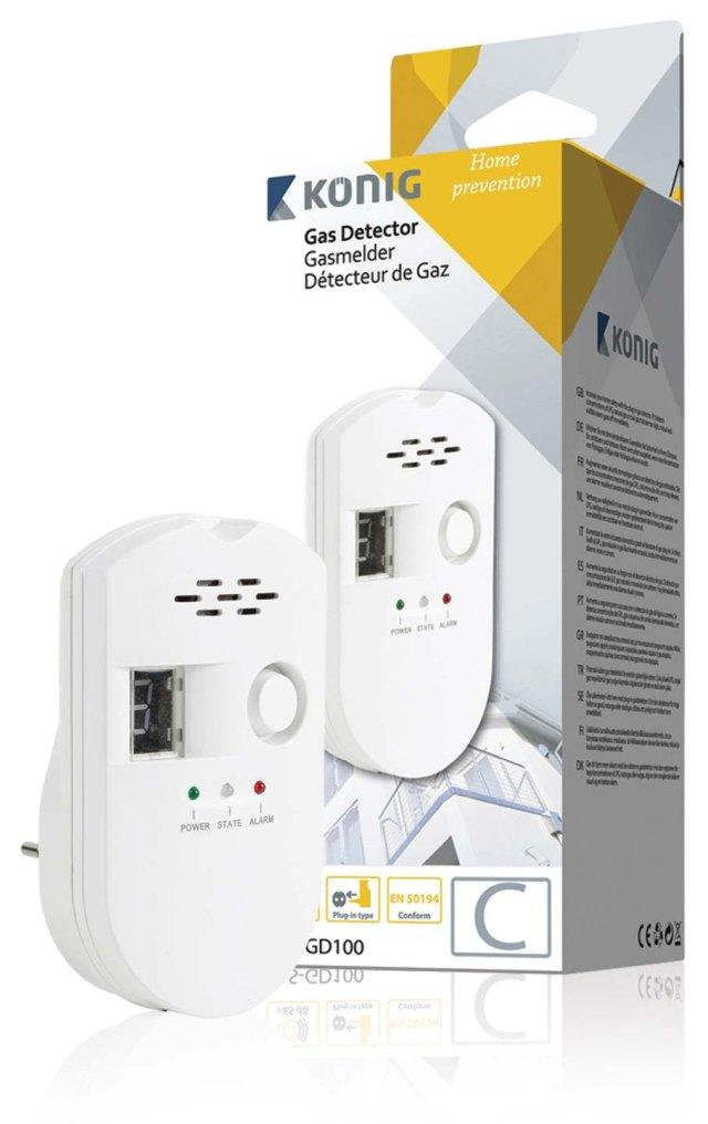König detektor plynů