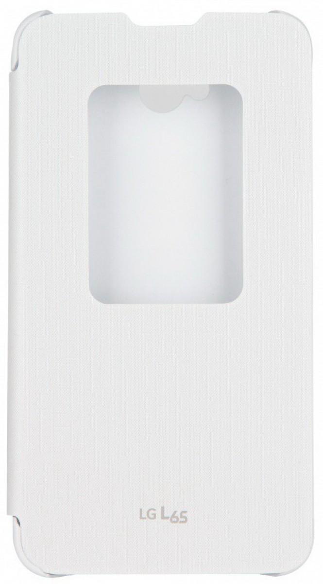 LG flipové QuickWindow CCF-450 pro LG L65 - bílé