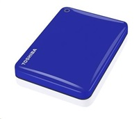 "TOSHIBA HDD CANVIO CONNECT II 2TB, 2,5"", USB 3.0, modrý"