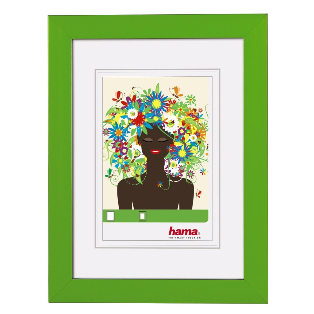 Hama rámeček plastový ARONA, zelený, 10x15cm