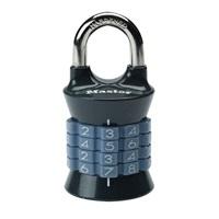 Master Lock 1535EURDGRY Kombinační visací zámek vertikální - šedá barva