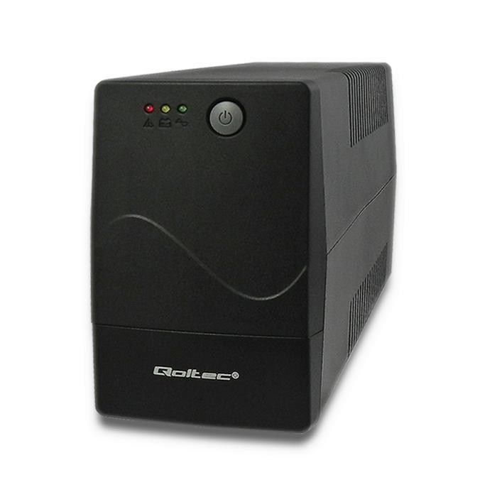 Qoltec Nepřerušitelný zdroj napájení MONOLITH 1000VA | 600W