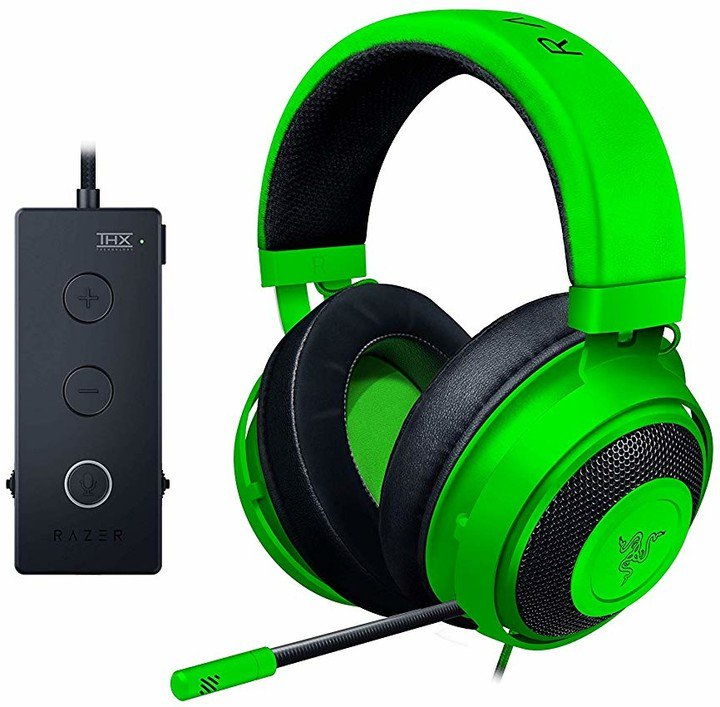 Gaming headset Razer Kraken Tournament Ed. Green