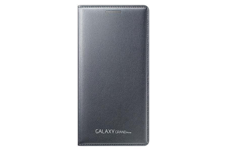 Samsung flipové pouzdro s kapsou EF-WG530B pro Samsung Galaxy Grand Prime (SM-G530), šedá