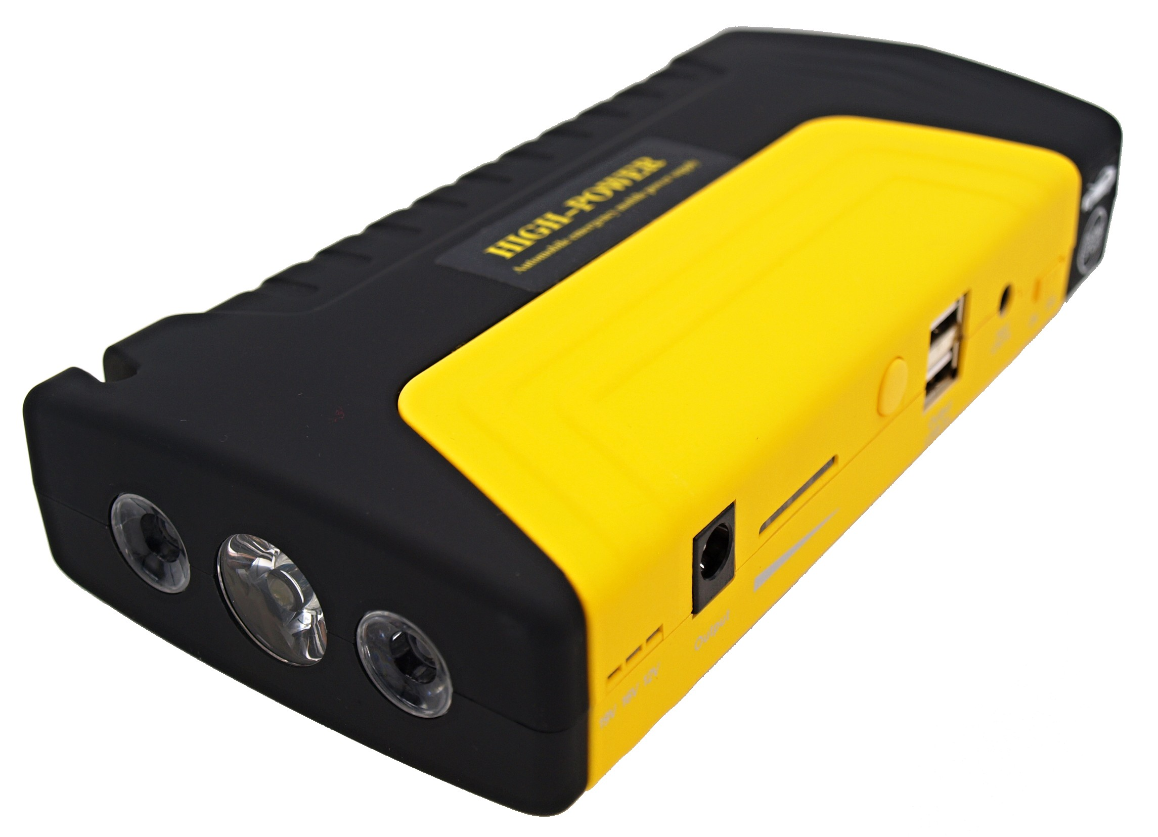VIKING Car Jump Starter Zulu I 12000mAh PLUS, Notebook Powerbank, Žlutá